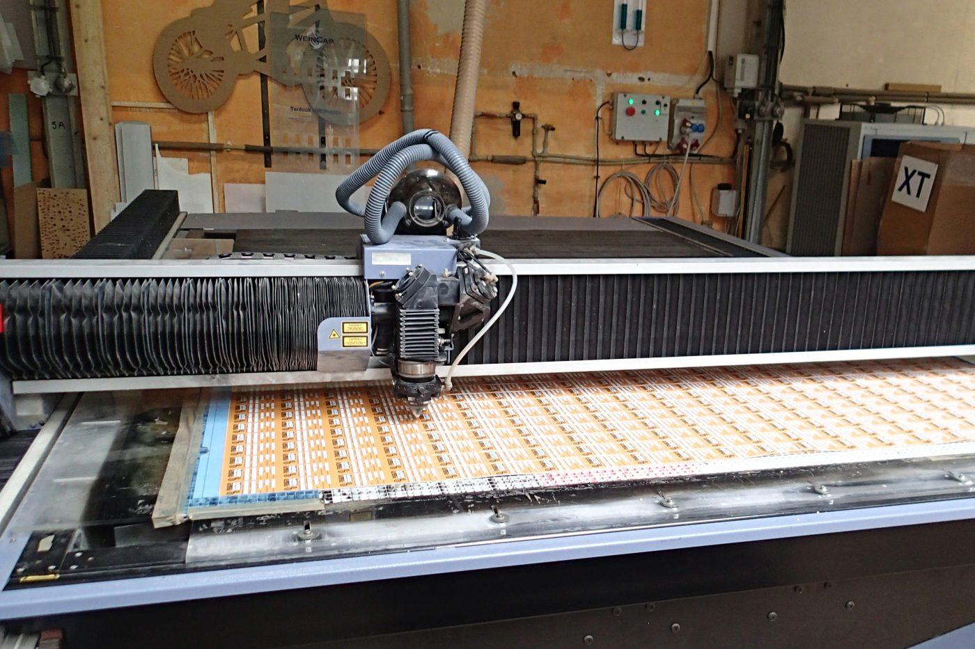 formátování tisků laserem